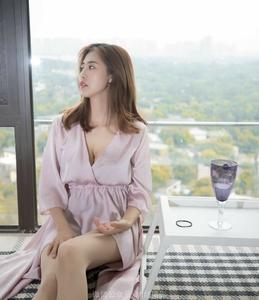 [纳丝摄影] 美女主播寒霜  睡衣