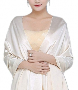 Womens Chiffon Bridal Evening Soft Wrap Scarf Shawl