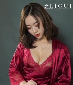 [Liguil丽柜] Model 然然 - 睡衣魅惑丝袜