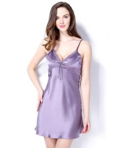 真丝睡衣重磅桑蚕丝吊带裙性感女士家居裙子内衣打底裙