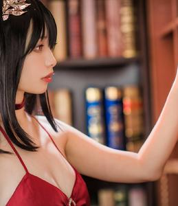 动漫博主雯妹 - 碧蓝航线大凤丝绸礼服
